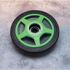 parts unlimited rear green idler wheel w bearing 0420010