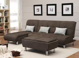 Most Comfortable Sectional by Chocolate Brown Fabric Convertible Sectional With Rectangular