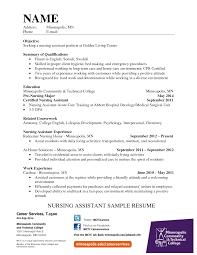 Resume Format Nursing Job by Resume Hospital Resume