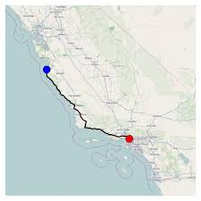 Mapping A Route by Ipython Books Creating A Route Planner For Road Network In Python