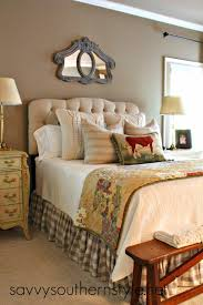 savvy southern style my bed at the moment master bedroom