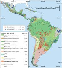 Latam Map Chart Forest Loss In Latin America