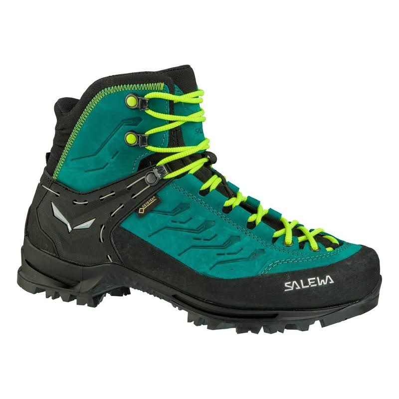 Salewa Rapace GTX Mountaineering Boot Shaded Spruce/Sulphur Spring 9 00-0000061333-8630-9