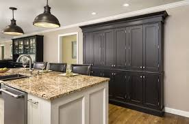 Antique Painted Kitchen Cabinets Antique Black Painting Kitchen Cabinets Exitallergy Com