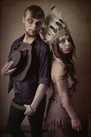 Zombie Cowboy Indian Halloween Pinterest Costumes Halloween
