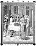Enter the Bible - Images: The Jews Passover, (15th Cent.) enterthebible.org