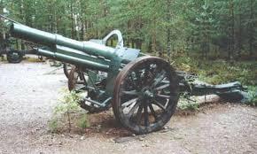 armas de la primera y segunda guerra mundial
