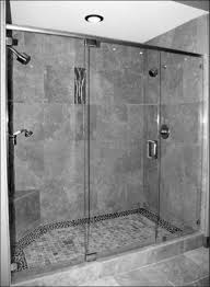 kitchen white bathroom shower tile with staggering walk in