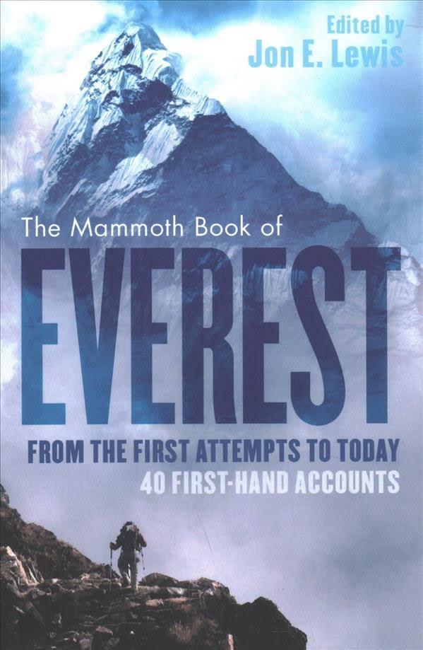Imagini pentru john e lewis the mammoth book of everest