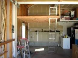 Build Wood Garage Shelves by Garage Storage Space