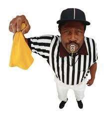 NFL Referee penalty
