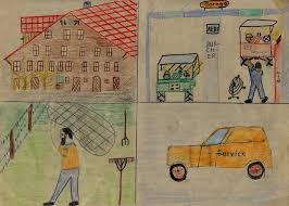 Wie die nebenstehende Zeichnung beweist, hatte ich, Markus Jutzeler, schon als Schüler Interesse an Landmaschinen und das Ziel, in zehn Jahren Mechaniker zu ... - zeichnung_markus_jutzeler