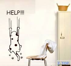 Kitchen Cabinet Quotes Aliexpress Com Buy Refrigerator Fridge Wall Stickers Cartoon