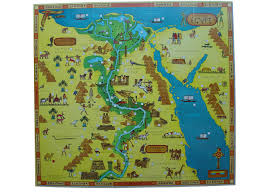 Map Egypt Illustrations Design Bambi Smyth