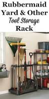 Rubbermaid Garden Tool Storage Shed by 106 Best Garage Storage Solutions Images On Pinterest Attic