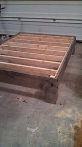 Build Your Own Platform Bed Base by Cheap Easy Low Waste Platform Bed Plans Platform Beds