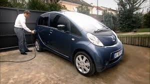 peugeot electric car 2010 peugeot ion youtube