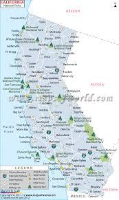 California Maps California National Parks Map List Of National Parks In California