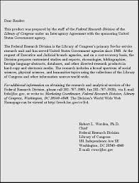 FRD    The Sociology and Psychology of Terrorism Federation of American Scientists