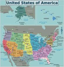 United States Map by Usa United States Map