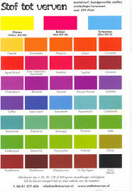 Best Color Codes Chart Fiber Color Code Chart
