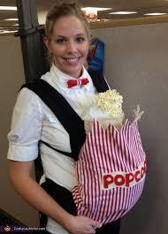 Baby Carrier Halloween Costumes 25 Baby Popcorn Costume Ideas Halloween