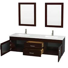 Hanging Bathroom Vanities by Manola 72 Inch Double Wall Mounted Bathroom Vanity Set