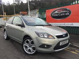2008 58 ford focus 1 6 tdci dpf titanium 3dr 5 speed manual turbo