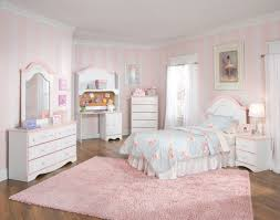 White Headboard Room Ideas Kids Bedroom Furniture Sets Light Blue Striped Covered Bedding