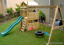 Backyards For Kids by Best 25 Swing Sets Ideas On Pinterest Kids Swing Set Ideas