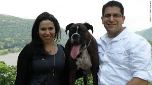 New dating site helps college students find love   CNN com Michelle Przybyksi      and Andy Lalinde      pose with their dog Domino