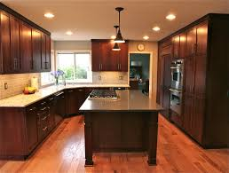 1990 kitchen remodel shaker style cherry cabinets with stain 1990 kitchen remodel shaker style cherry cabinets with stain quartz counter tops and hickory