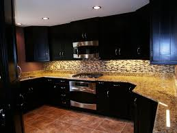 Dark Stained Kitchen Cabinets Steps Applying Gel Stain Kitchen Cabinets U2014 Home Ideas Collection