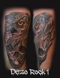 dezo owl skull owls skull lady death santa muerte skulls custom