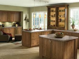 Kitchen Cabinet Wood Types Rustic Wood Species And Clean Door Styles Give This Kitchen An
