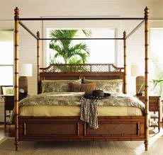 Tall Canopy Bed by Bahama Island Estate West Indies Queen Bed Sale Ends Oct 05