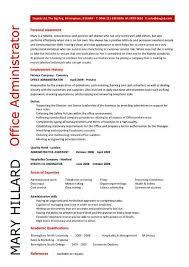 Sample Resume For Admin Assistant by Download Administrative Resume Samples Haadyaooverbayresort Com