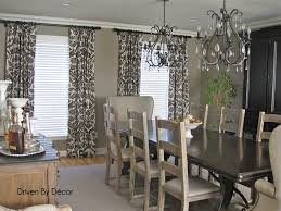 modern dining room curtains home decoration ideas designing fancy