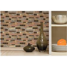 Kitchen Wallpaper Backsplash Peel And Stick Backsplash Tiles Walmart Floor Decoration