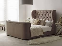 King Headboard Bedroom Furniture Bed With Cushioned Headboard Tall Headboard