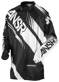 black motocross jersey answer youth syncron jersey revzilla