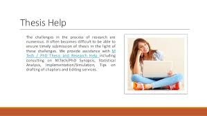 PhD Thesis Help in Jalandhar SlideShare