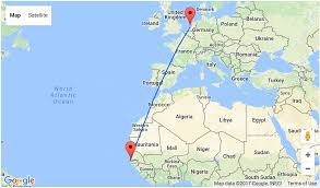 Egypt On A World Map by 7 Night Stay In Gambia For U20ac310 Including Flights From Amsterdam