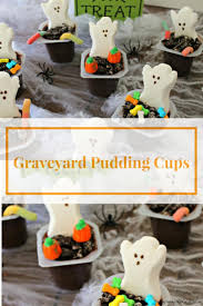 halloween dirt cake graveyard vegan halloween pudding cups recipe namely marly rip cookie