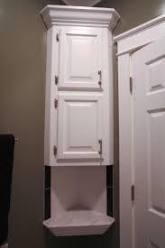 furniture primitive bathroom wall cabinets corner storage benevola