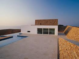 modern house design in greece