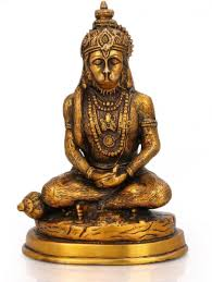 grab collectible india abhaya buddha statue brass sculpture