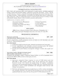 Sample Investment Banking Analyst Resume Service Advisor Resume Sample Resume For Your Job Application