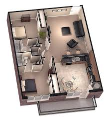 3 Bedroom Apartment Floor Plan Best 10 2 Bedroom Apartments Ideas On Pinterest Two Bedroom