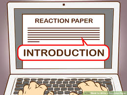 How to Write a Reaction Paper  with Pictures    wikiHow Example Resume And Cover Letter